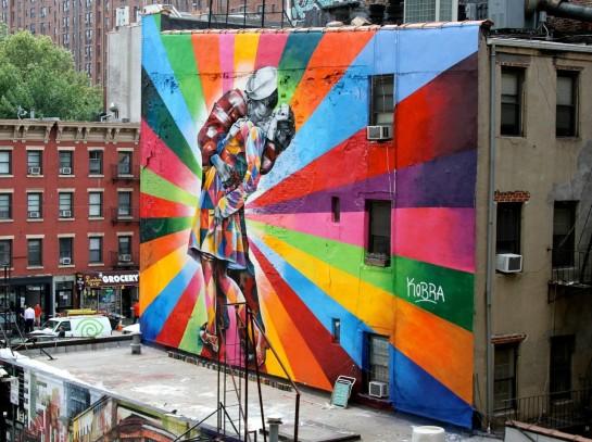 Murales di Edoardo Kobra